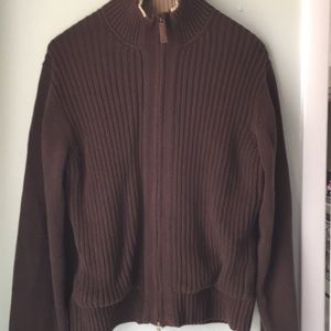 TOMMY HILFIGER Fur-lined sweater